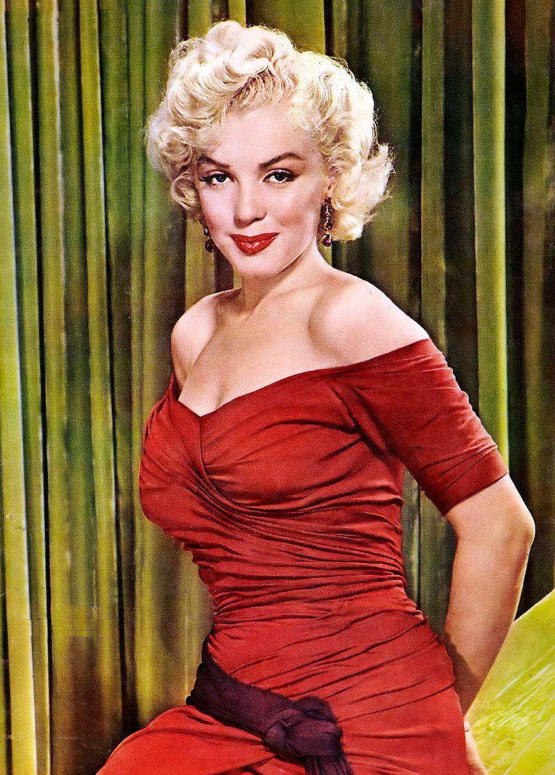 Marilyn Monroe, New York Sunday News, Wikipedia.
