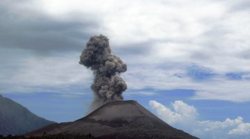 Vulcanul care a răcit Terra