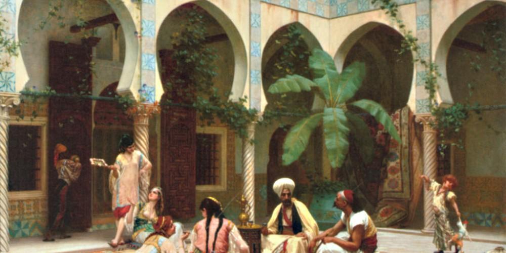 Harem pictura de Gustave Clarence Rodolphe Boulanger
