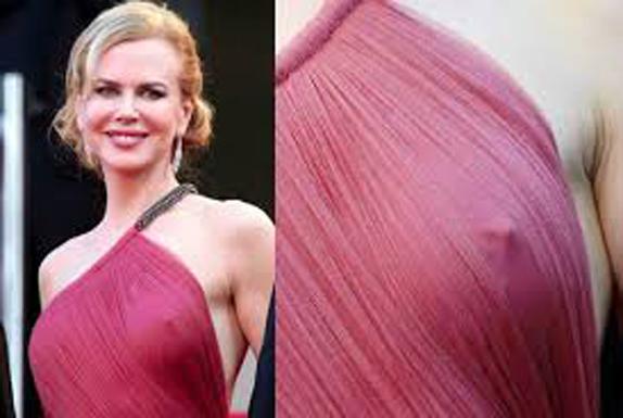 Nicole Kidman în rochie transparentă